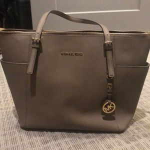 Michael Kors Neutral/Gray/Tan Purse